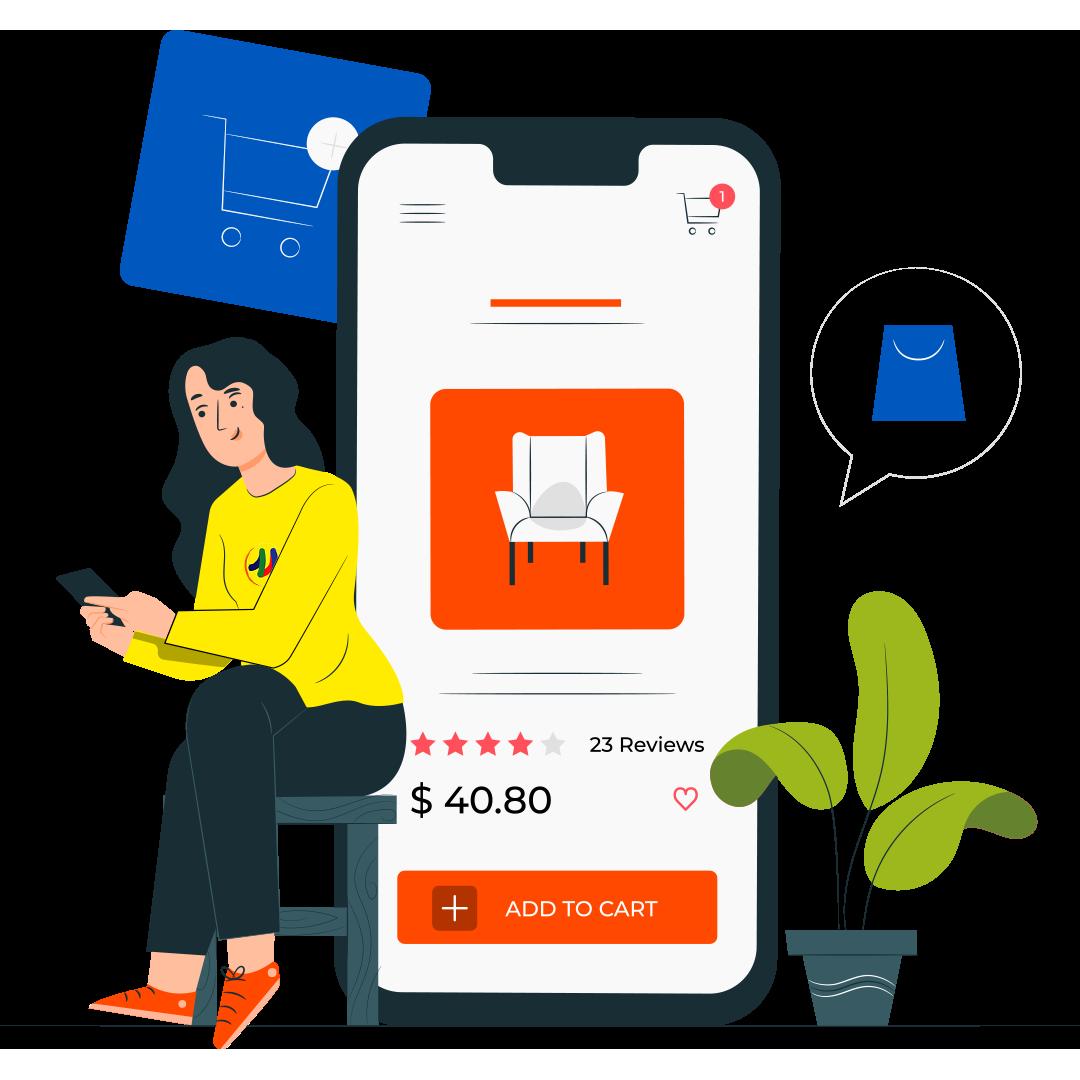 Messenger E-commerce
